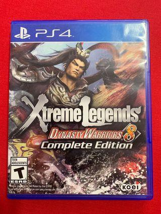 PS4 Dynasty Warriors 8 XL complete edition