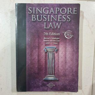Singapore Business Law (7th Edition)