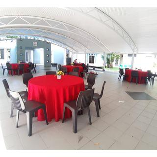 [Rent] Tables and Chairs Rent Rental Cheap Deliver Setup Event Function Wedding Birthday Party Flee Market Roadshow Kenduri Buffet BBQ Barbecue Barbeque Rental Open House Celebration 12