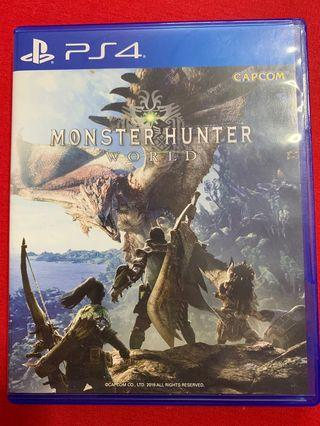 PS4 Monster Hunter