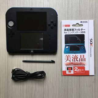 2DS 16GB Jailbroken - Free Charger