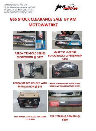 GSS Clearance Sale!!