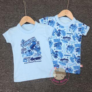 💢現貨💢出口日本Tomica純棉短袖衫💕 1 Set 2件[110~120cm]