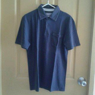 Navy blue sport shirt