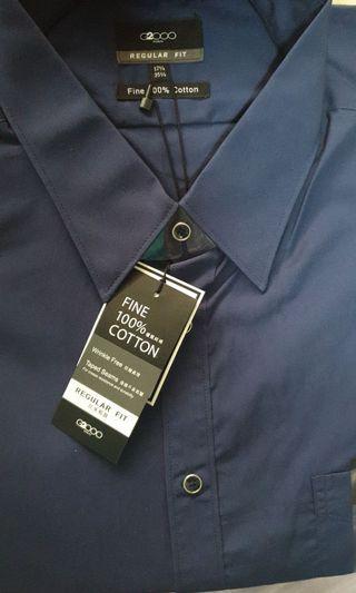 G2000 long sleeve blue shirt