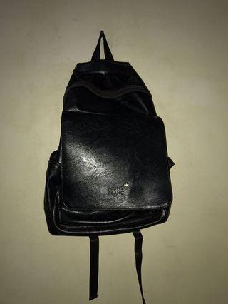 BACKPACK LEATHER MONTBLANC