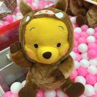 🚚 43cm Original JP Winnie the Pooh Red Cheeks Giga Jumbo Wild Boar Plush Toy