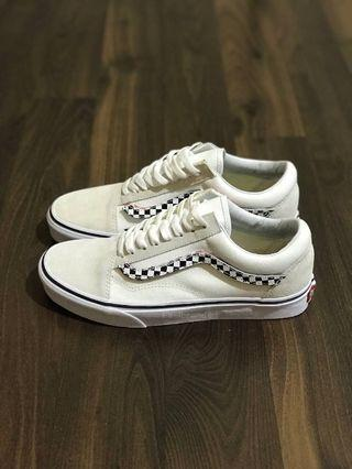 Vans Oldskool Side Stripe V True White