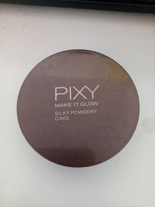 Pixy make it glow silky compact powder
