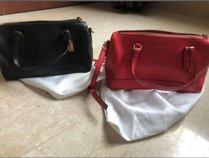 Coach 49392 saffino leather mini satchel bag