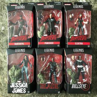 Marvel Legends: Complete Man-Thing Series