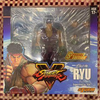 Street Fighter V: Ryu - Purple Costume Hong Kong Toy Exclusive (Storm Collectibles)