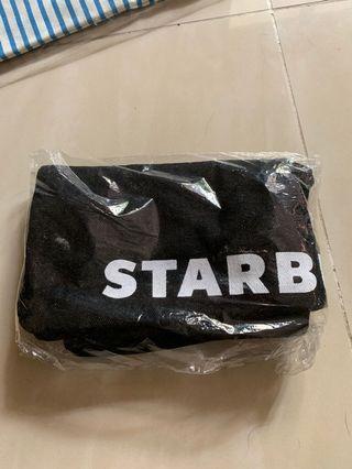 Starbucks black denim Bag