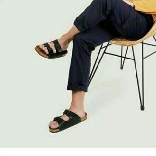 Hayabusa black Sandal Pria Murah