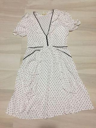 Maje pattern dress 碎花連身裙