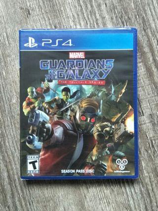 🚚 New/Sealed PS4 Marvel Guardians Of the Galaxy - The Telltale Series