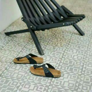 Grock black Sandal Pria Murah