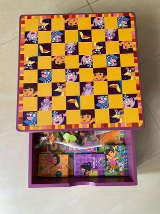Dora The Explorer Board game set box