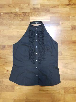 🚚 Bare back button front top