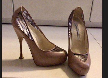Brian Atwood authentic shoes  full leather