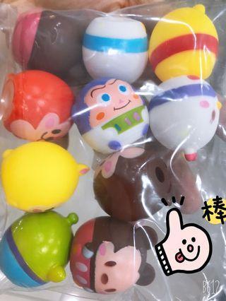 Tsum Tsum cake toppers (10pcs)