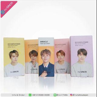 THE SAEM - ECO EARTH POWER TONE UP CREAM SPF50+ PA++++ 50g ( SEVENTEEN EDITIONS.COUP )