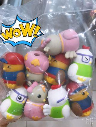 Didi and Friends Cake Toppers for 9pcs
