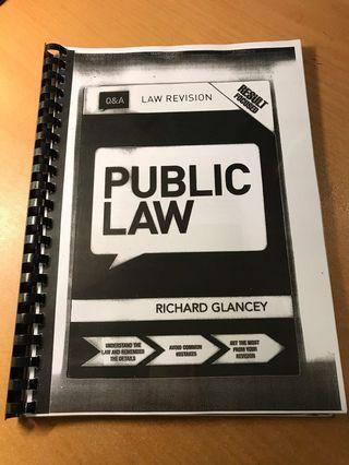 Public Law Q&A Richard Glancey