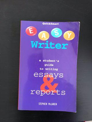 Easy Writer Guide to Essays and Reports