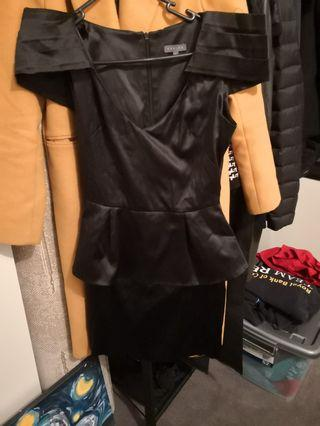 Size 6 black sheike dress