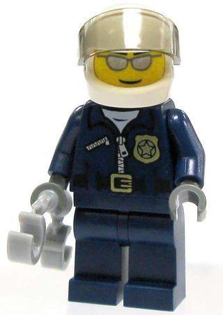 🚚 Lego City Traffic Police Minifigure