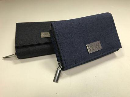 🚚 Yun Join 織面 中夾 皮夾/ YunJoin wallet medium size