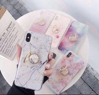 CASE MARBLE MARMER IRING IPHONE7+/8+ 7+ 8+