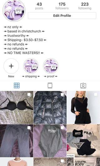 go follow my selling account on insta!!