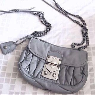 Miu Miu Matelasse Bag with Chain