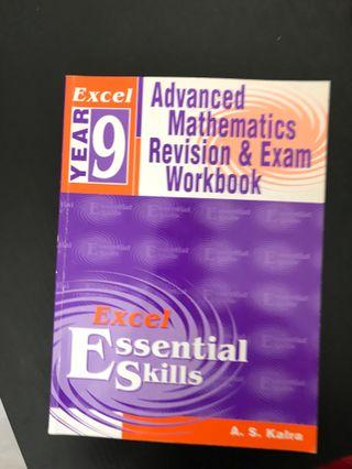 Excel Year 9 exam revision workbook