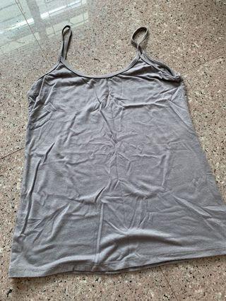 grey cami top