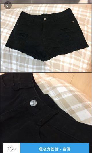 🚚 降價⚡️黑短褲 前後都有口袋 #轉轉香噴噴