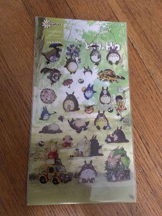 """My Neighbor Totoro (Japanese: となりのトトロ; Tonari no Totoro, """"The Totoro Next-door"""") Stickers"""