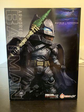 (全新正版) Kids Logic Armored Batman 蝙蝠俠 MECHA Nations 12 Action Figure