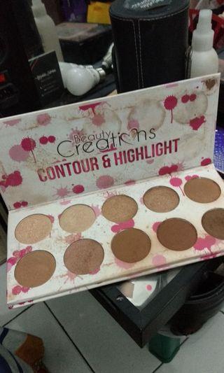 Beauty creations Contour highlight Palette