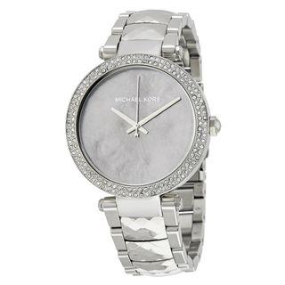 New MICHAEL KORS Parker Mother Of Pearl Dial Ladies Watch (MK6424)