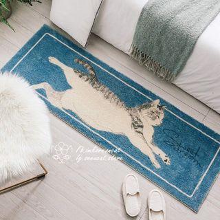🎏發美夢中的貓咪柔軟地毯🐈2款可選