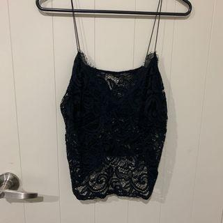 Glassons lace top