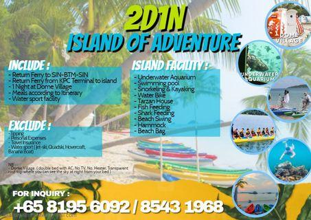 2 day 1 night Island Adventure in Batam