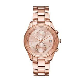 New MICHAEL KORS Briar Rose Gold-tone Dial Ladies Watch (MK6465)