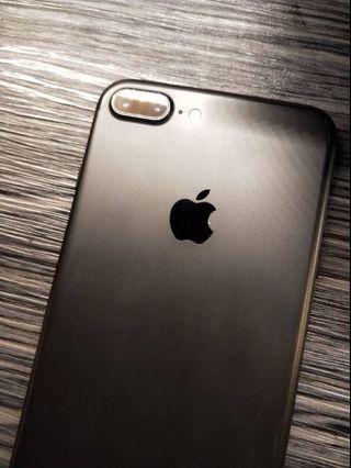割愛 先搶先贏 Iphone 7plus 128g 5.5吋 黑 全機包膜 台北可面交