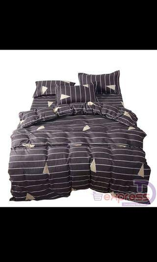 Queen Fitted Bed Sheet (Free postage)