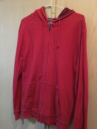 紅色休息外套