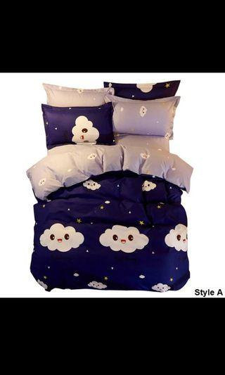 Queen Fitted Bedsheet (Free postage)